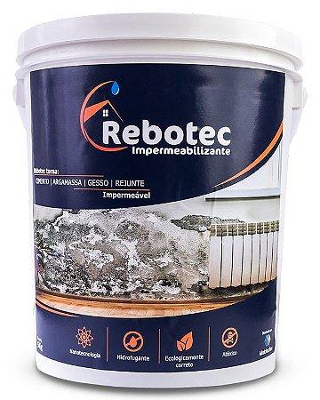 Impermeabilizante Rebotec ® 5kg Para Laje Reboco Piso Cerâmica