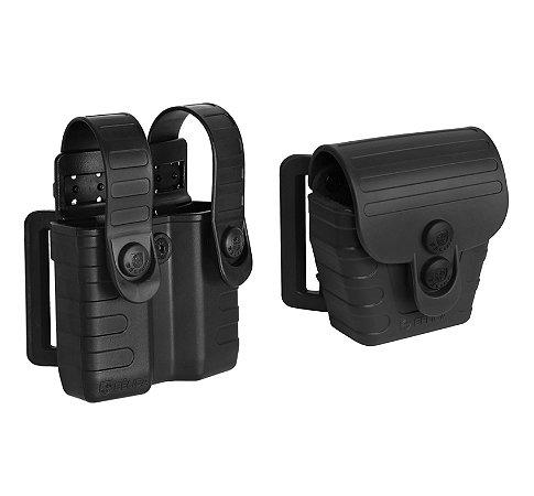 Combo Porta Carregador + Porta Algema Universal Tab Lock² Bélica