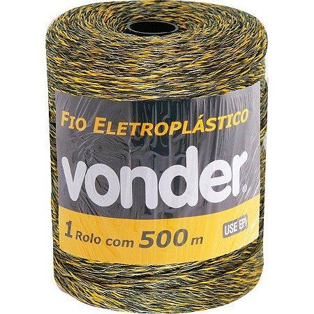 Fio Eletroplástico 500m para Cerca Elétrica Vonder