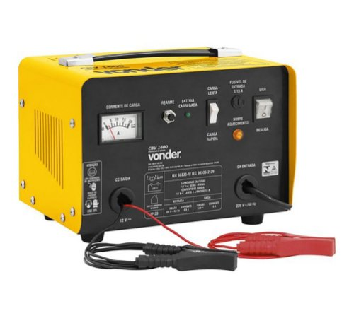 Carregador de Bateria CBV 1600 Vonder