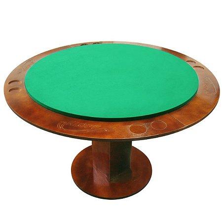 Mesa de Carteado Redonda Luxo Klopf