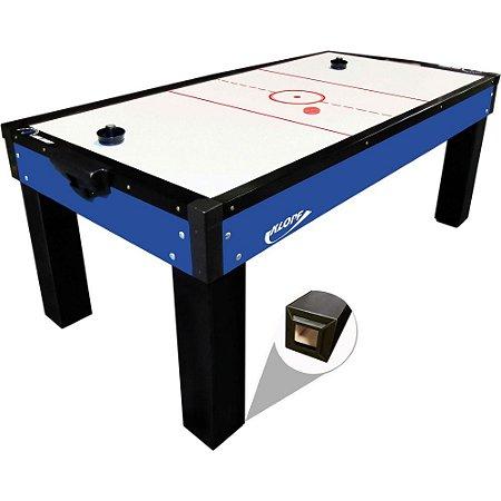 Mesa de Aero Hockey Azul Klopf