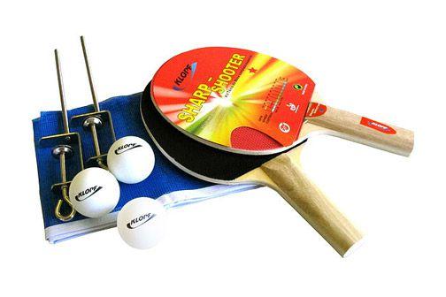 Kit Tenis de Mesa Pino Pop Completo 5030 Klopf