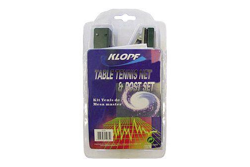 Kit Tênis de Mesa Suporte Master com Mola e Rede Poliester Klopf 5034