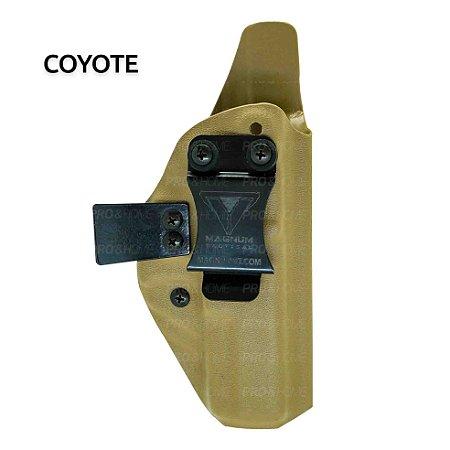 Coldre Interno IWB Kydex G17, G20, G21, G22, G31, G37 MC-SLIM008 Magnum