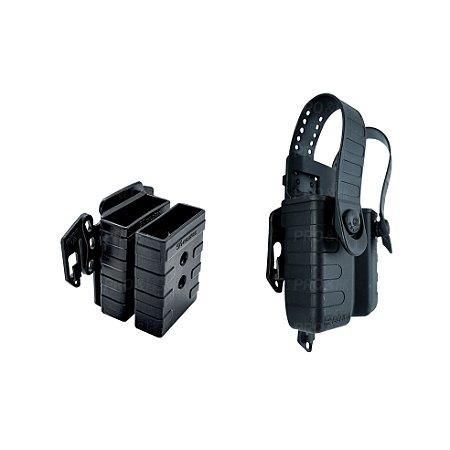 Kit Porta Carregadores + Suporte Strike Bélica / Só Coldres