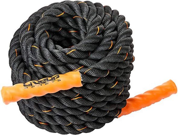 Corda Naval Training - 11,5 Mtr - 34mm Polyester - Liveup Sports