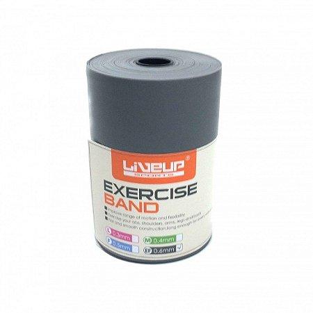 Rolo de Faixa Elástica Extra Forte 12 Metros Liveup Fitness