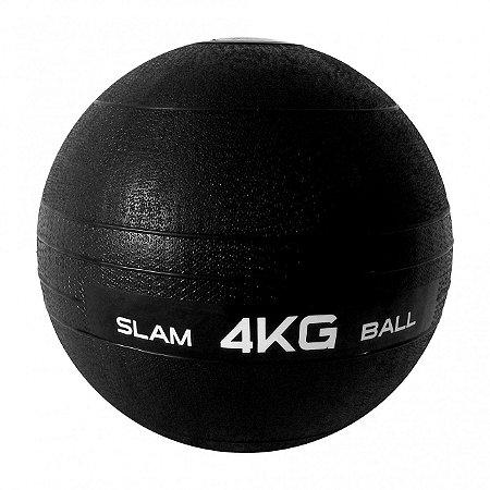 Bola Slam Ball A 4kg Fitness Liveup Exercício