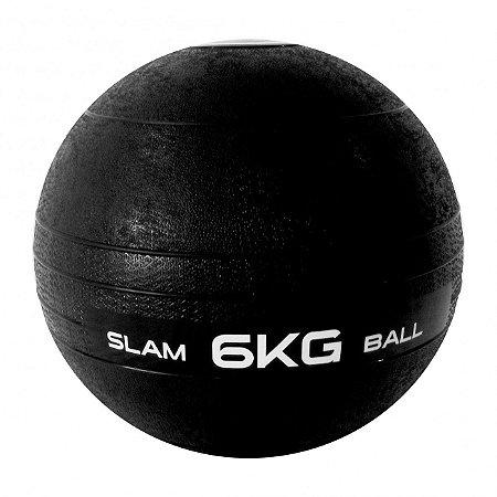 Bola Slam Ball B 6kg Fitness Liveup Exercício
