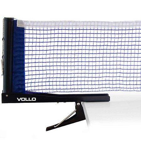 Kit Rede e Suporte Tênis de Mesa com Alicate Vollo
