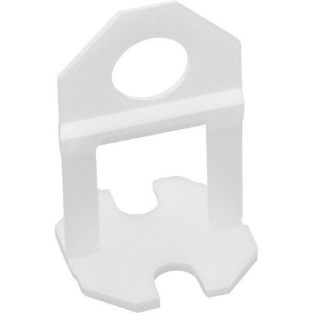 Espaçador Base Para Nivela Piso 1mm Moldimplas (100 peças)