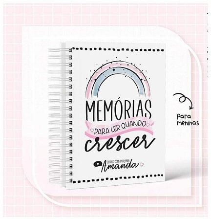 Caderno Memórias menina