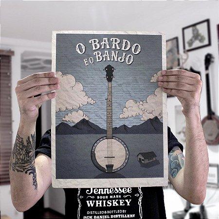 "Pôster ""Mountain Banjo"""