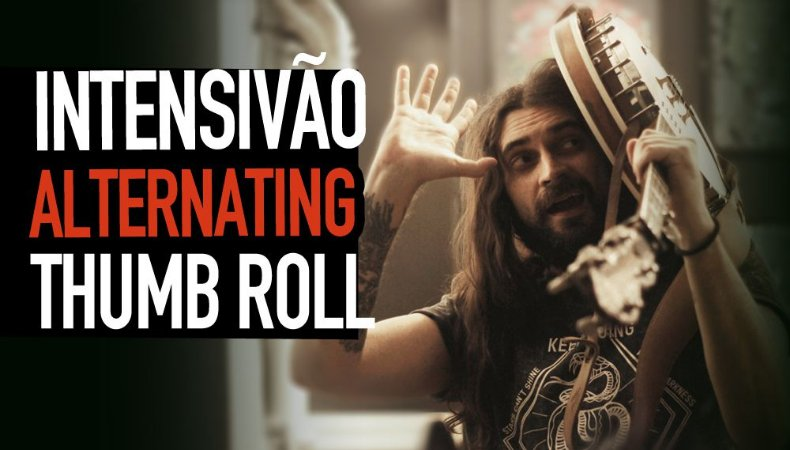 Intensivão Alternating Thumb Roll - Aula de Banjo 5 Cordas