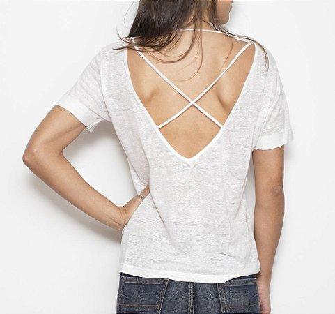 Camiseta X Branca