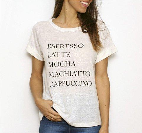 Camiseta Café