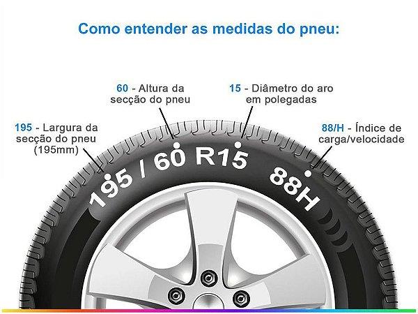 Pneu 195/60 R15 88H Pirelli Cinturato P1