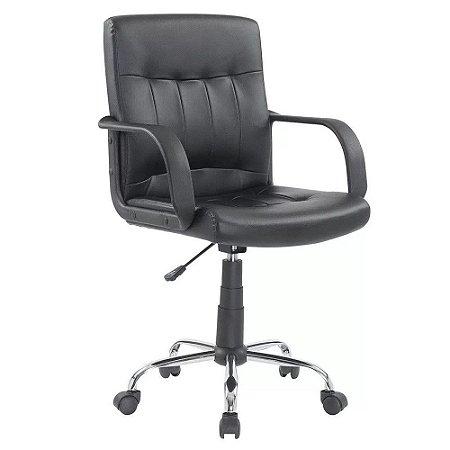 Cadeira Escritorio Home Preta
