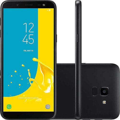 7f14b0df75703 Smartphone Samsung Galaxy J6 32GB Dual Chip Android 8.0 Tela 5.6