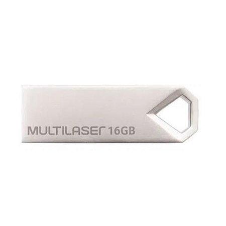 Pen drive Multilaser Diamond 16GB Metálico PD850