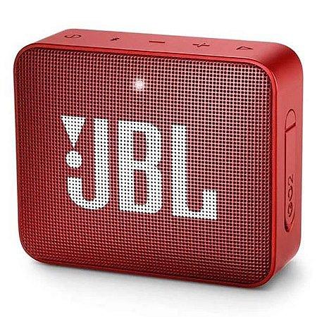 Caixa de Som JBL Go2 Bluetooth Vermelha