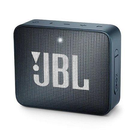 Caixa de Som JBL Go2 Bluetooth Navy - 7080