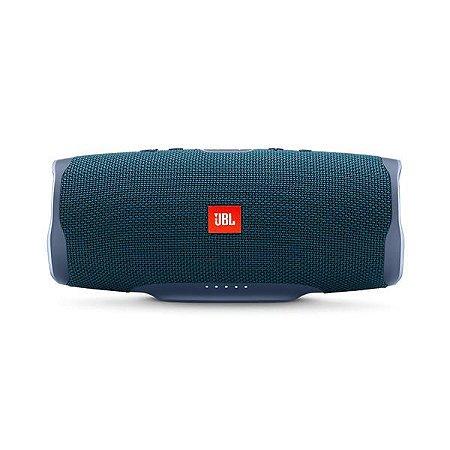 Caixa de Som Bluetooth JBL Charge 4 Azul