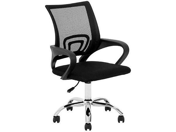 Cadeira Escritório Tela Preta