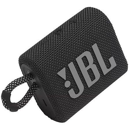 Caixa Som JBL Go3 Bluetooth Preto