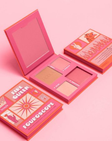 Benefit Cosmetics Fouroscope Fire Queen Bronze, Blush & Highlight Palette