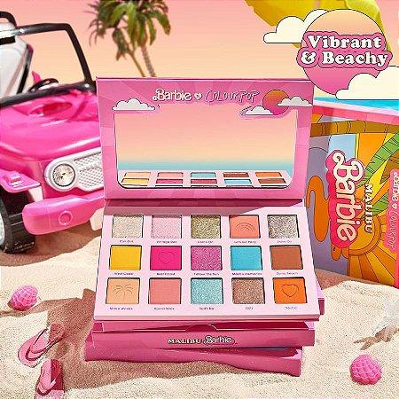 colourpop malibu barbie paleta de sombras