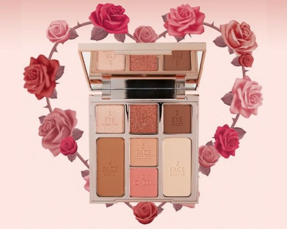 CHARLOTTE TILBURY Instant Look of Love In A Palette Pretty Blushed - pink