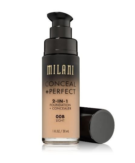 Milani Conceal + Perfect 2-in-1 Foundation + Concealer 00B Light