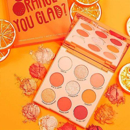 COLOURPOP orange you glad? Paleta de Sombras (novo/sem caixa)