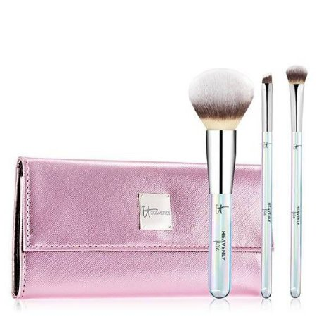 it cosmetics Heavenly Luxe Beautiful Basics Makeup Brush Set and Case (NOVO/SEM CAIXA)