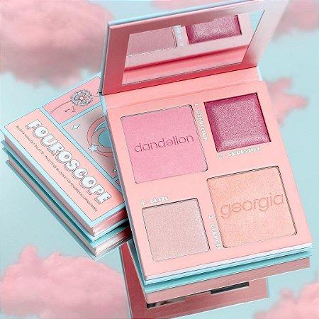 Benefit Cosmetics Fouroscope Air Goddess Blush & Highlight Palette