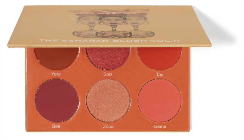 Juvias Place The Saharan Blush Palette Volume II