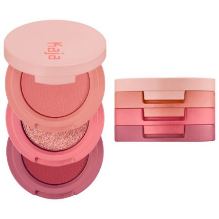 KAJA Beauty Bento Bouncy Shimmer Eyeshadow Trio 07 Glowing Guava