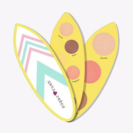 tarte sugar rush™ limited-edition surf babe eye & cheek palette