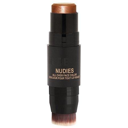 NUDESTIX Nudies All Over Face Color Glow ILUMINADOR BUBBLY BEBE