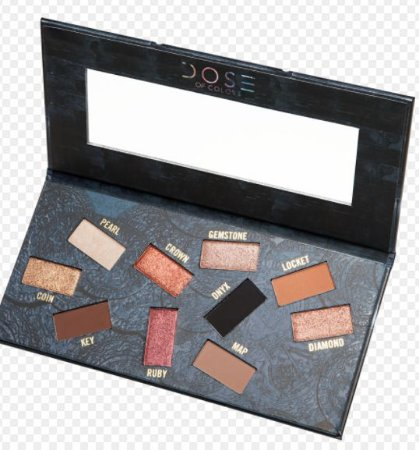 DOSE OF COLORS Hidden Treasure Palette - Limited Edition