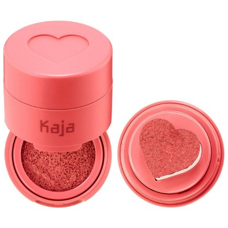 Kaja Cheeky Stamp Blendable Blush 03 Bossy - soft coral