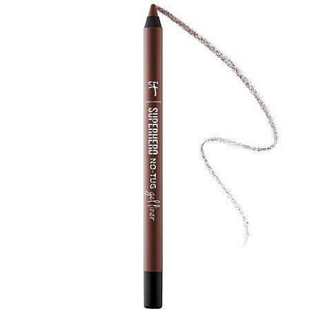 IT Cosmetics Superhero No-Tug Gel Eyeliner DELINEADOR Brilliant Brown - soft natural brown