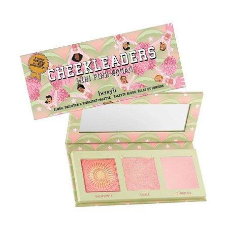 BENEFIT cheekleaders pink squad mini cheek palette