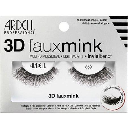 Ardell  3D Faux Mink Lash #859 1 par de cílios postiço