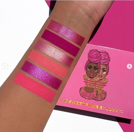 Juvia's Place The SWEET PINKS PALETA DE SOMBRAS