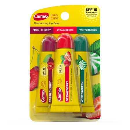 Carmex Daily Care Assorted Lip Balm