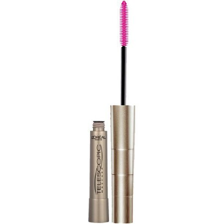 L'Oreal Paris Telescopic Original LAVÁVEL Intense Lengthening Mascara, 905 Black, 0.27 fl. oz.