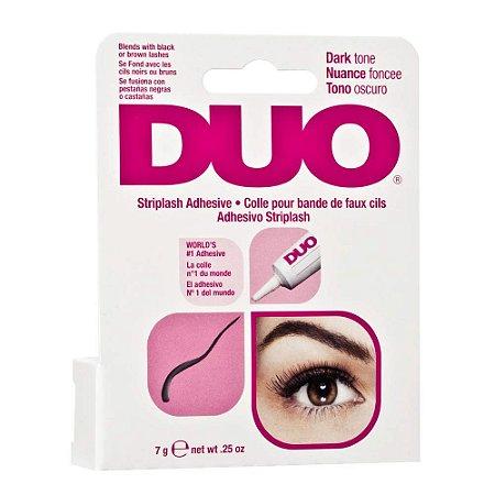 DUO Strip EyeLash Adhesive for Strip Lashes, Dark Tone 7g